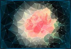 Το τρίγωνο αυξήθηκε Στοκ εικόνα με δικαίωμα ελεύθερης χρήσης