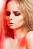 το τρίχωμα μόδας βραδιού μ&alpha Στοκ εικόνες με δικαίωμα ελεύθερης χρήσης