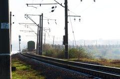 Το τραίνο πηγαίνει μακριά στοκ φωτογραφία με δικαίωμα ελεύθερης χρήσης
