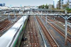 Το τραίνο φεύγει Στοκ φωτογραφία με δικαίωμα ελεύθερης χρήσης