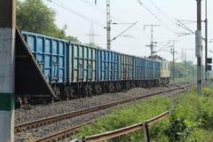 Το τραίνο χτυπά στοκ εικόνες
