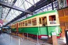 Το τραμ αριθ. bendigo το 1995 ήταν στην υπηρεσία από την αποθήκη τραμ Rozelle από το Νοέμβριο του 1951 μέχρι την περάτωση αποθηκώ στοκ φωτογραφία με δικαίωμα ελεύθερης χρήσης