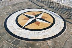 Το τριαντάφυλλο πυξίδων, Pesaro Στοκ εικόνα με δικαίωμα ελεύθερης χρήσης
