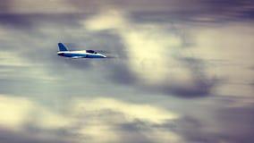 το τρισδιάστατο αεριωθούμενο αεροπλάνο illistration φαίνεται διάνυσμα ουρανού αεροπλάνων Στοκ φωτογραφία με δικαίωμα ελεύθερης χρήσης