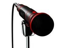 το τρισδιάστατο μικρόφωνο δίνει Στοκ Εικόνα