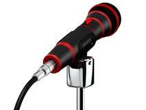 το τρισδιάστατο μικρόφωνο δίνει Στοκ φωτογραφία με δικαίωμα ελεύθερης χρήσης