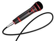 το τρισδιάστατο μικρόφωνο δίνει Στοκ Φωτογραφίες
