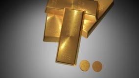 το τρισδιάστατο χρυσό HQ ράβδων δίνει εξαιρετικά ελεύθερη απεικόνιση δικαιώματος