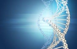 το τρισδιάστατο DNA εφαρμογής παρήγαγε την υψηλή πρότυπη ανάλυση εικόνας Στοκ εικόνα με δικαίωμα ελεύθερης χρήσης