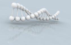 το τρισδιάστατο DNA εφαρμογής παρήγαγε την υψηλή πρότυπη ανάλυση εικόνας Στοκ Εικόνες