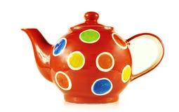 Το τσάι θέτει κοντά επάνω απομονωμένος στο άσπρο υπόβαθρο Στοκ φωτογραφία με δικαίωμα ελεύθερης χρήσης
