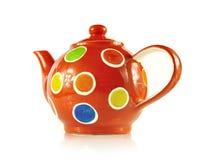 Το τσάι θέτει κοντά επάνω στο άσπρο υπόβαθρο Στοκ φωτογραφία με δικαίωμα ελεύθερης χρήσης