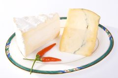 το τσίλι τυριών κόβει το γ&alp στοκ εικόνες με δικαίωμα ελεύθερης χρήσης