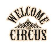 Το τσίρκο παρουσιάζει λογότυπο Στοκ εικόνες με δικαίωμα ελεύθερης χρήσης