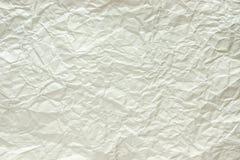 Το τσαλακωμένο τυποποιημένο φύλλο Στοκ Φωτογραφία