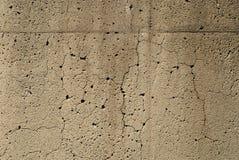 το τσιμέντο ράγισε παλαιό Στοκ Φωτογραφία