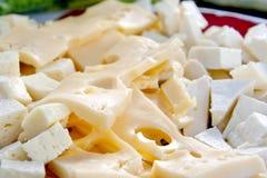 το τυρί δακτυλογραφεί δ στοκ φωτογραφίες