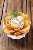 το τυρί πελεκά το καλαμπόκι φρέσκο Στοκ Εικόνες