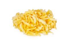 Το τυρί περικοπών Στοκ Εικόνα