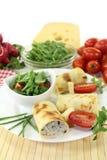 Το τυρί crepe οι ρόλοι Στοκ εικόνα με δικαίωμα ελεύθερης χρήσης