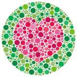 το τυφλό χρώμα αγαπά το μο&upsilon Στοκ Φωτογραφίες