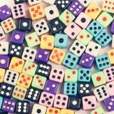 Το τυχερό παιχνίδι χωρίζει σε τετράγωνα το υπόβαθρο Στοκ φωτογραφία με δικαίωμα ελεύθερης χρήσης