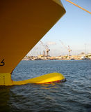 Το τόξο ενός σκάφους Στοκ Εικόνες