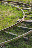 Το τόξο των σιδηροδρόμων, Στοκ φωτογραφία με δικαίωμα ελεύθερης χρήσης