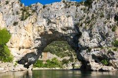 Το τόξο Pont δ ` στη Γαλλία Στοκ εικόνες με δικαίωμα ελεύθερης χρήσης