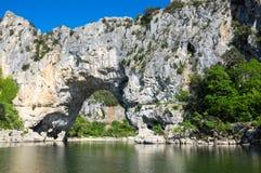 Το τόξο Pont δ ` στη Γαλλία Στοκ εικόνα με δικαίωμα ελεύθερης χρήσης