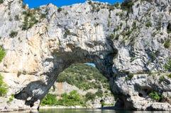 Το τόξο Pont δ ` στη Γαλλία Στοκ φωτογραφία με δικαίωμα ελεύθερης χρήσης