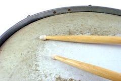 το τύμπανο κολλά δύο Στοκ φωτογραφία με δικαίωμα ελεύθερης χρήσης
