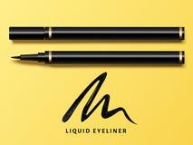 Το υγρό eyeliner έθεσε απεικόνιση αποθεμάτων