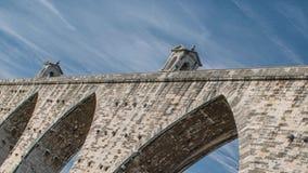 Το υδραγωγείο Aguas Livres πορτογαλικά: Το υδραγωγείο Aqueduto DAS Aguas Livres ` των ελεύθερων νερών ` είναι ένα ιστορικό υδραγω απόθεμα βίντεο