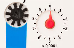 Το υδρόμετρο, κλείνει επάνω. στοκ φωτογραφία