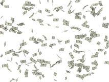 Το υπόβαθρο από τα δολάρια τρισδιάστατα δίνει ελεύθερη απεικόνιση δικαιώματος