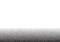 Το υπόβαθρο κλίσης Dotwork, γραπτός διεσπαρμένος ζωγραφίζει με κουκίδες τα σημεία Απεικόνιση αποθεμάτων