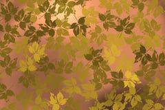 Το υπόβαθρο με τα φύλλα κατά τη διάρκεια του φθινοπώρου σκιαγραφεί 2 Στοκ εικόνες με δικαίωμα ελεύθερης χρήσης