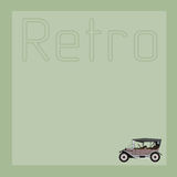 Το υπόβαθρο με το παλαιό αυτοκίνητο Στοκ φωτογραφίες με δικαίωμα ελεύθερης χρήσης