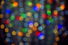 Το υπόβαθρο στεφανιών γιρλαντών χρώματος, Στοκ φωτογραφίες με δικαίωμα ελεύθερης χρήσης