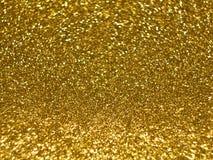 Το υπόβαθρο της χρυσής σύστασης λάμπει στοκ εικόνα με δικαίωμα ελεύθερης χρήσης