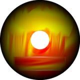 Το υπόβαθρο του CD είναι κενό Στοκ εικόνα με δικαίωμα ελεύθερης χρήσης