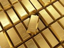 Το υπόβαθρο των χρυσών φραγμών κλείνει επάνω Στοκ φωτογραφία με δικαίωμα ελεύθερης χρήσης