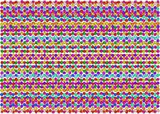 Το υπόβαθρο υπό μορφή ανώμαλων χρωματισμένων κύκλων Στοκ φωτογραφία με δικαίωμα ελεύθερης χρήσης