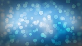Το υπόβαθρο Bokeh με τα Χριστούγεννα ανάβει την μπλε απόχρωση απεικόνιση αποθεμάτων