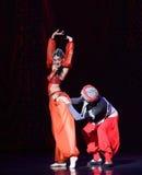 """Το δυστυχές μπαλέτο """"One χίλιο και ένα Nights† κοριτσιών ομορφιάς πειρατής-τιτιβίσματος Στοκ Εικόνα"""