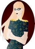 Το φάντασμα του κοριτσιού Στοκ Εικόνα