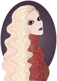 Το φάντασμα του Ledy Στοκ Εικόνα