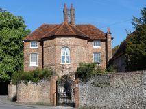 Το φέουδο στεγάζει έναν βαθμό ΙΙ απαριθμημένο κτήριο στα εξοχικά σπίτια Highmore, λίγο Missenden στοκ εικόνες