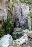 Το φαράγγι Avakas στο μεσογειακό νησί της Κύπρου Στοκ φωτογραφίες με δικαίωμα ελεύθερης χρήσης